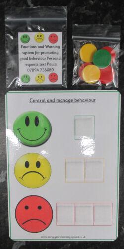 Autism~SEN~EYFS~Schools~ Promote and control good behaviour pecs and chart set