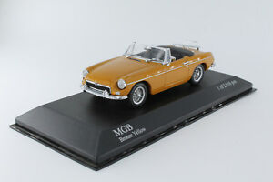 A-S-S-Minichamps-1-43-MG-B-cabriolet-bronze-Yellow-limitited-Edition