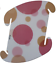 Pink Polka Dots Medium Infinity Lamp IQ Puzzle Jigsaw LuvaLamps 30 Pieces USA