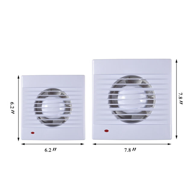 6 Inches Exhaust Ventilation Fan For