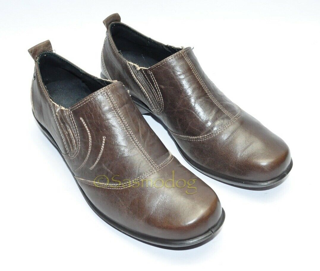 femmes Worn Once ROMIKA chaussures Taille 39 EU 8.5 - 9 US marron Leather