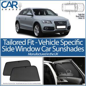 Mercedes GLA 5dr 2014/> UV CAR SHADES WINDOW SUN BLINDS PRIVACY GLASS TINT BLACK
