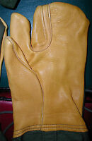 Us Military Extreme Cold Gloves,leather,trigger Finger, Large, Free Ship Usa