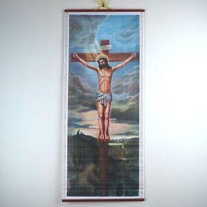Crucifixion Josse Lieferinxe JesUS Christ Giant Wall Art Poster Print