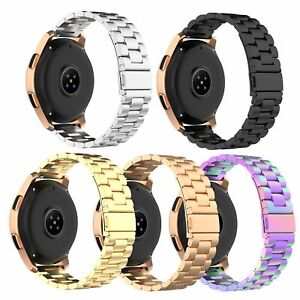 20mm-Edelstahl-Armband-fuer-Samsung-Galaxy-beobachten-R815-Garmin-Vivoactive3