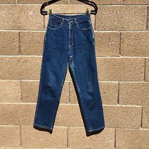 Women-s-Vintage-Gitano-Jeans-Blue-Denim-Straight-Leg-Mom-Size-6-Length-Short