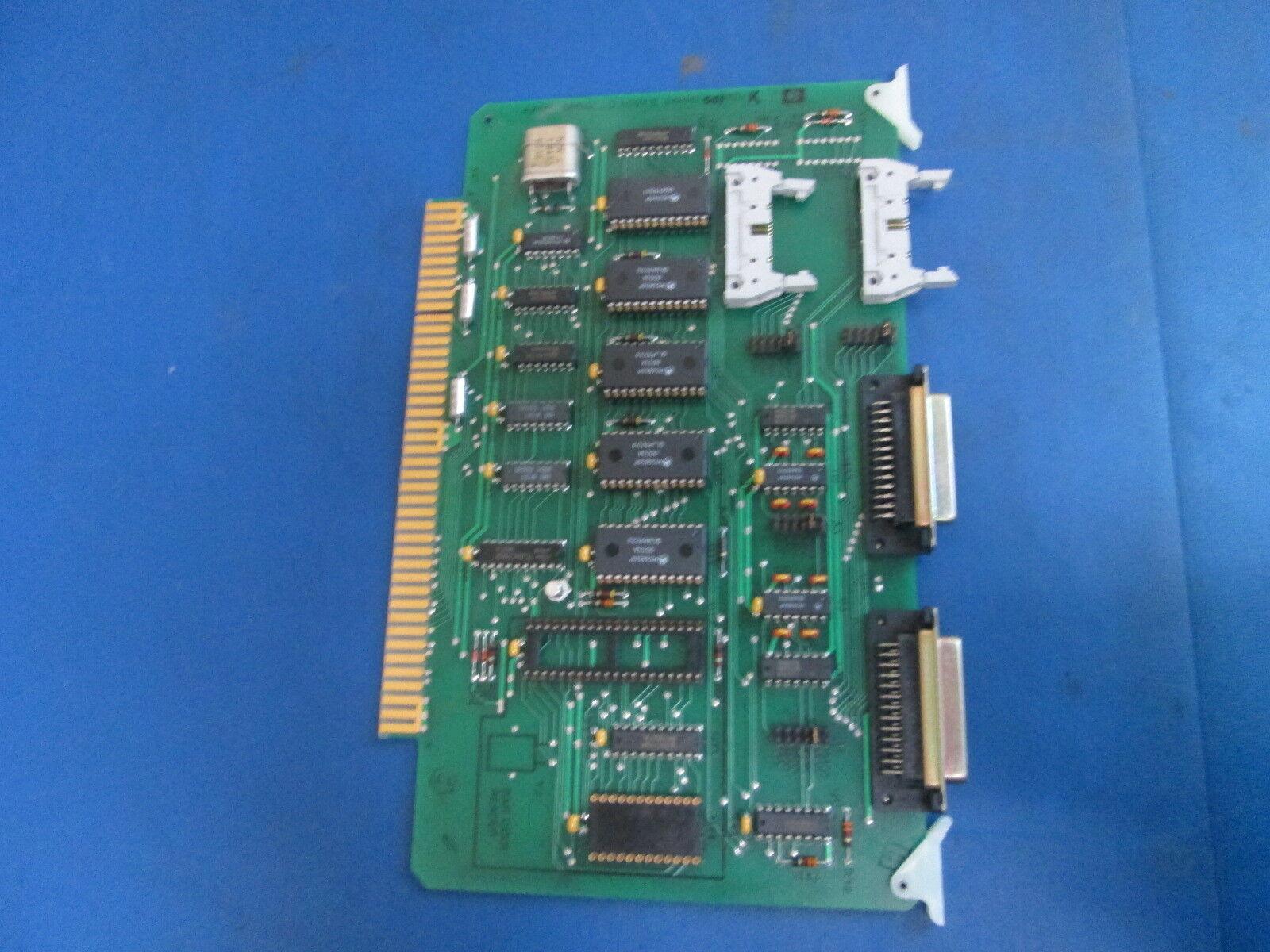 Electroglas 4 Port Serial ASSY II PLC 246067-001 Rev.K Fab 246068-001 Board