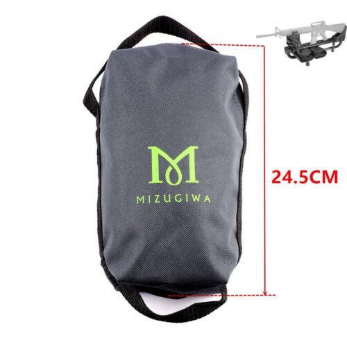 Mizugiwa Portable Shooting Sand Rest Weight Bag Set Rifle Gun Bench Rest Stand