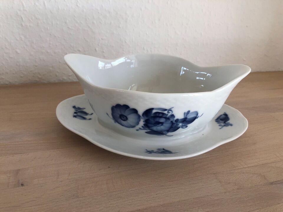 Porcelæn, Blå Blomst: 2 sauceskåle 8159, Royal Copenhagen