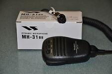 Yaesu mh-31b8 GUARNIZIONE 8 pin Tonda RACCORDO MIC suits tutti moderno YAESU 8 PIN