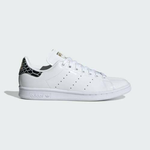 Size 5 - adidas Stan Smith Black Snakeskin