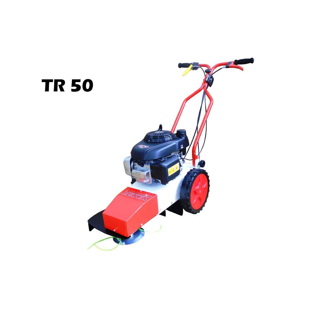 DECESPUGLIATORE A RUOTE TR50 TEKNA + 600GR olio SAE30 omaggio + trasporto gratis