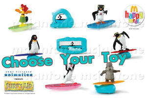 MIP-McDonald-039-s-2007-SURF-039-S-UP-Penguin-Movie-SURFING-Surfer-Surf-YOUR-TOY-CHOICE