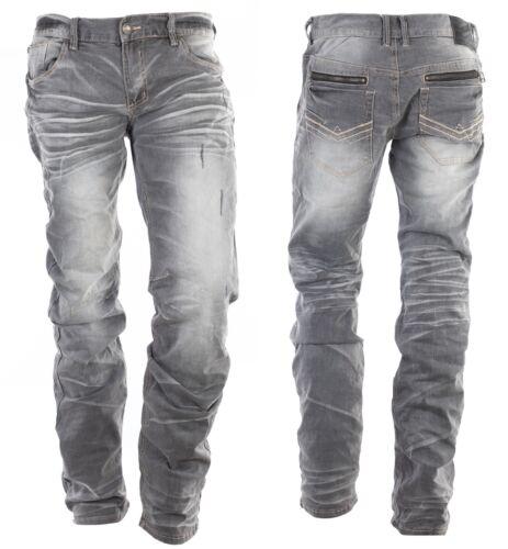AFFLICTION Men Denim Jeans ACE STANDARD NORWALK Embroidered BKE Buckle $119 NWT