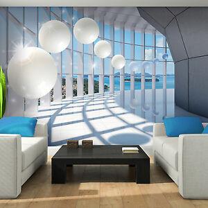 vlies tapete fototapete tapete insel korridor tunnel. Black Bedroom Furniture Sets. Home Design Ideas