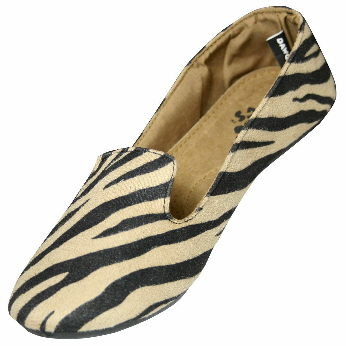 Women's Dawgs Kaymann Exotic Smoking Loafer Safari Size 9  NBIO0-M9