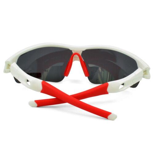 D/&H Sport Hiking Cycling Sunglasses Goggles UV4002 Pair Leg Gloves 5 Lens