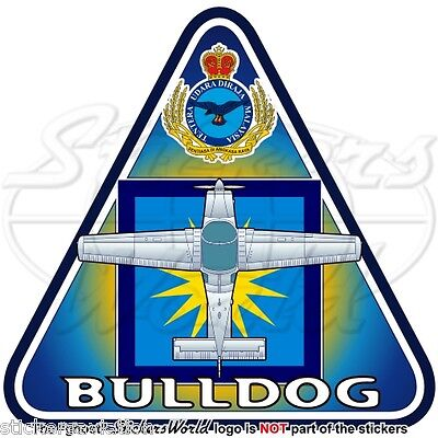 Britische Royal AirForce Aufkleber Beagle Scottish Aviation BULLDOG T.1 RAF