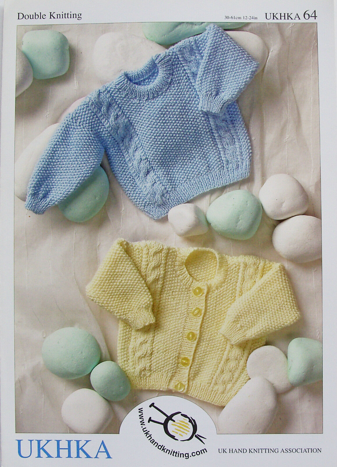 5304c69dd Double Knitting Baby Pattern Long Sleeved Cable Knit Cardigan ...