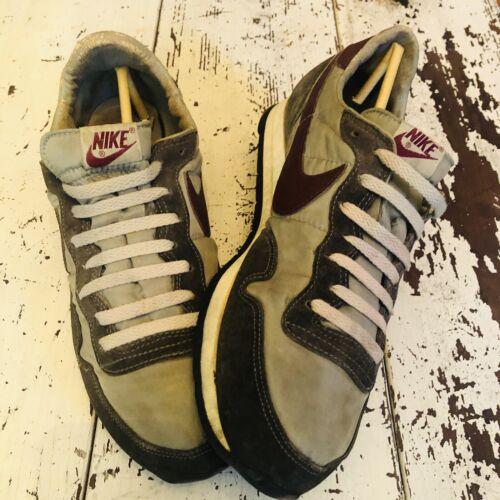 vintage 70s nike shoes gray waffle size 12