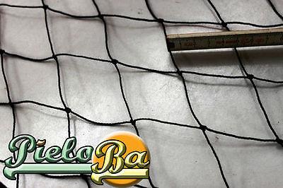 4 M X 5 M Volierennetz Tiergehege Netz Schwarz Masche 5 Cm Stärke 1,2 Mm Größe