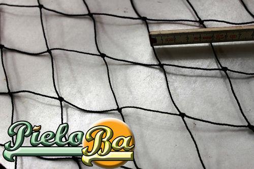 Geflügelzaun Netz  2,50 m x 30 m  schwarz  Maschenweite 5 cm  Geflügelnetz