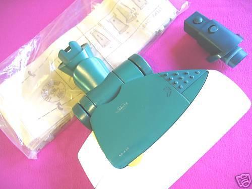Vorwerk Elektrobürste EB 350 orig Adapter 10 passende Tüten für Kobold VK121