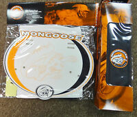 Bmx Bike Mongoose Pad Set Number Plate Maurice Valve Caps Stickers Old School