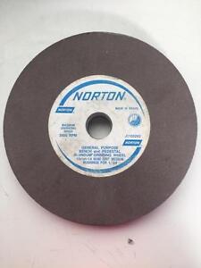 "NORTON 10"" X 1"" X 1 1/4"" GRINDING WHEEL J1105293 60/80"