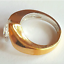 thumbnail 3 - Ladies Silver Gold Plated Solitaire  Ring Size 4.5 9.5 10 Cubic Zirconia