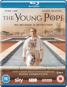 The-Young-Pope-Blu-Ray-2016-Jude-Law-cert-15-4-discs-NEW-Amazing-Value