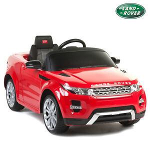 kids range rover 12v ride on car electric power wheels w rc remote red evoque ebay. Black Bedroom Furniture Sets. Home Design Ideas