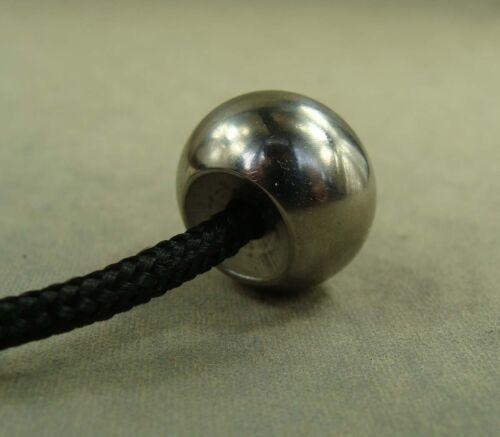 Titanium Ball shaped Begleri Parachute Cord Fidget Toy Lanyard bead worry beads