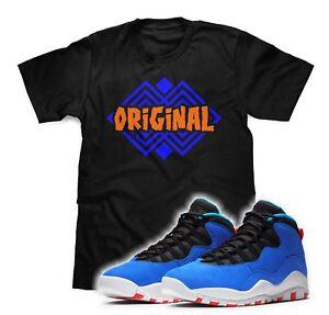 promo code 7c362 65d79 Details about Original T-Shirt Designed To Match Air Jordan Retro 10 Tinker  Sneakers S-3XL