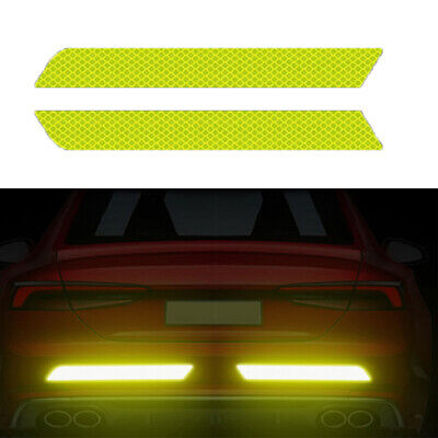 Safety  Door Bumper Stickers  Car Reflective Strips Reflector Tape Warning Mark