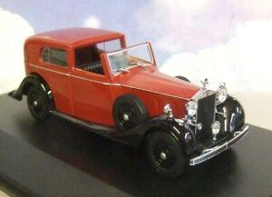 Oxford-1-43-Rolls-Royce-Phantom-III-3-Sedanca-De-Ville-Mulliner-clarete-y-Negro