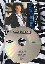 Jason Donovan - Too Many Broken Heart Rare 1989 CD Single S/A/W Pwl