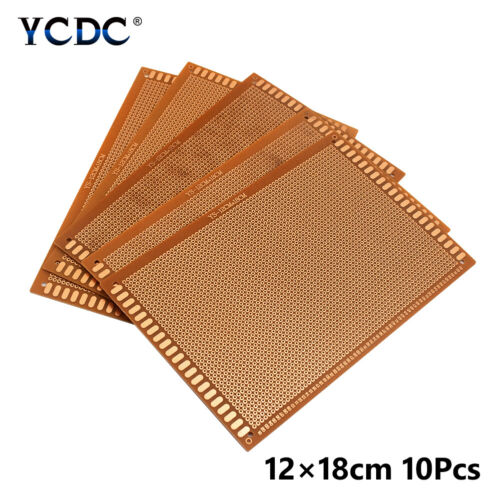 single-sided pcb prototype circuit board breadboard 4 sizes for diy arduino 342