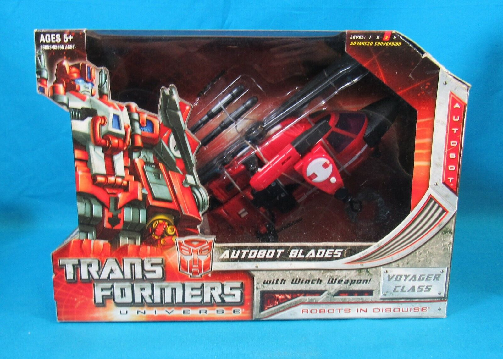 Hasbro Transformers Universe Voyager classe Blades 2008 nuovo in scatola Sealed