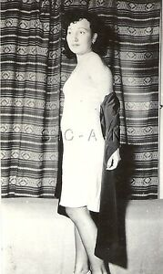 Original Vintage 1940s-60s Nude RP- Beautiful Woman- On