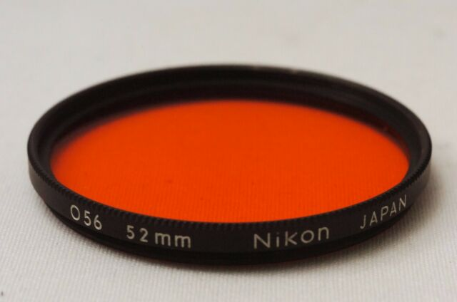 @ Ship in 24 Hrs! @ Nikon O56 Orange 52mm Black Rim Lens Filter