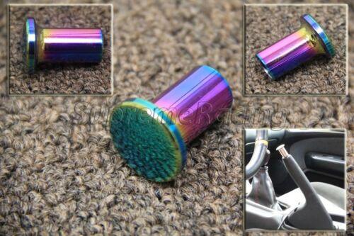 RDT Neo Chrome Aluminum Drift Spin Turn E-BRAKE KNOB 89-94 240 180 SX S13 SILVIA