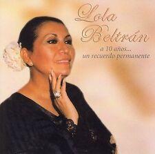 LOLA BELTRN - A 10 A¤OS: UN RECUERDO PERMANENTE (NEW CD)