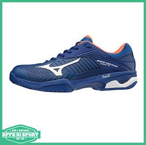 Scarpe-tennis-uomo-Mizuno-wave-exceed-tour-3-cc-scarpa-tempo-libero-sport-terra