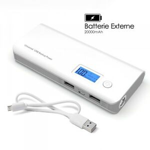 Batterie-Externe-2-USB-20000mAh-pour-Apple-iPhone-6-iPhone-6S-iPhone-7