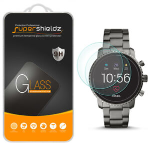 2-Pack-Tempered-Glass-Screen-Protector-for-Fossil-Q-Explorist-HR-Gen-4