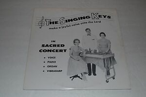 The-Singing-Keys-In-Sacred-Concert-Private-Press-Christian-Xian-FAST-SHIPPING