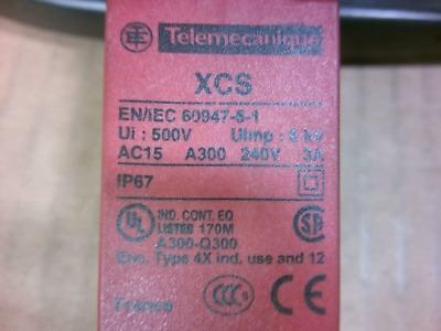 240V 3A Telemecanique XCS-TA Safety Interlock Switch