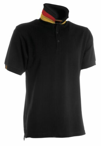 Allemagne Polo-Shirt bouffigue Messieurs Flip Fan-shirt Nation Germany