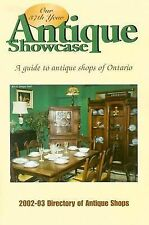 Antique Showcase Directory: A Guide to Antique Shops of Ontario